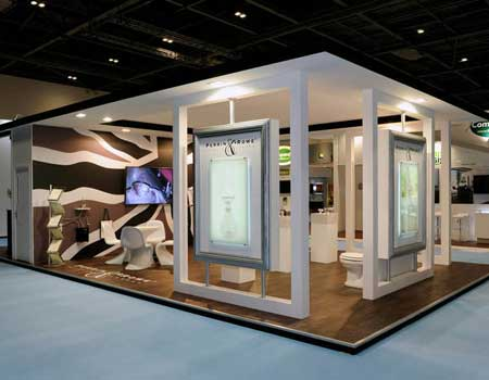 Exhibition Stand : Secrets for designing a good exhibition stand