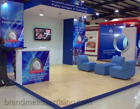 Outdoor Advertising Signage Dubai Exhibition Stands